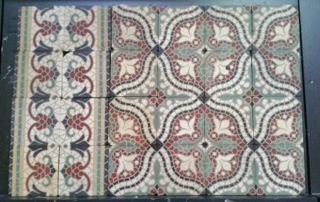 antieke tegels T36