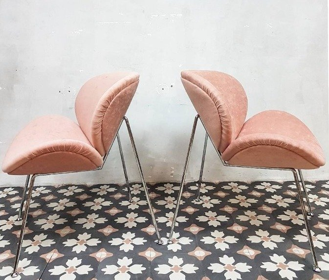 roze cementtegels FIORE 20x20