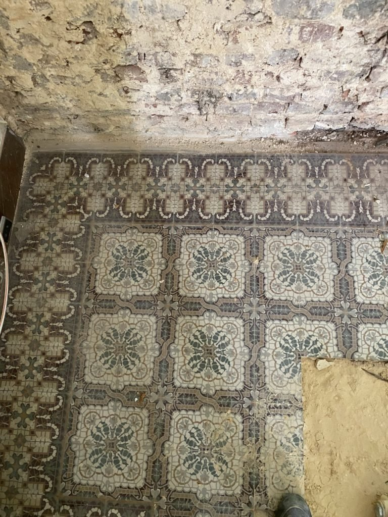 antieke tegels mozaiektegels