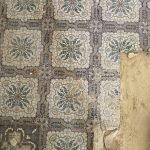 Oude tegels mozaiektegels