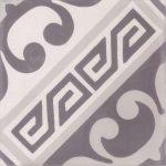 Portugese tegels wit grijs C
