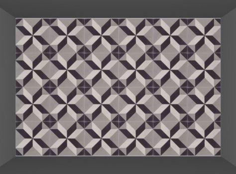 Portugese cementtegels STARZ 9