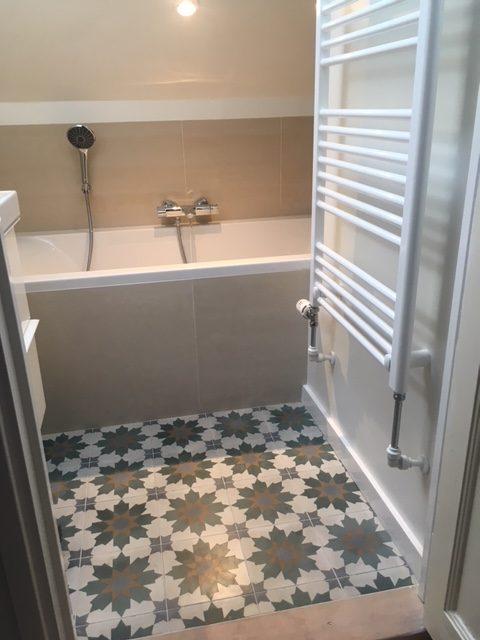 Portugese vloertegels badkamer : Cementtegels SPARKLEZ XL-01 - Floorz