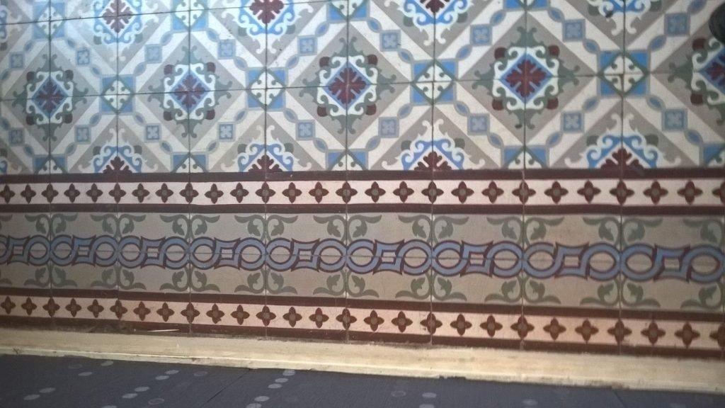 oude tegels FRankrijk