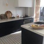 keuken met Portugese tegels