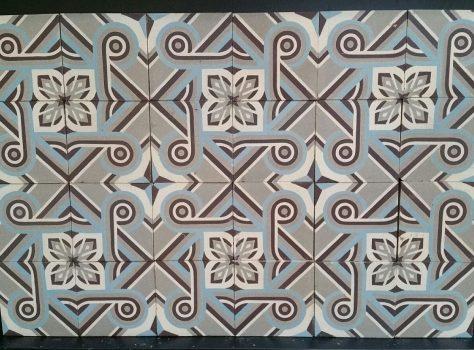 antieke tegels C104