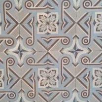 antieke vloertegels B13
