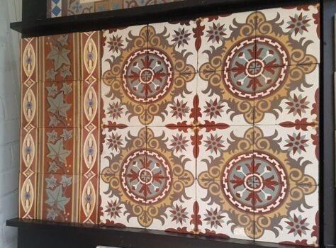 oude patroontegels
