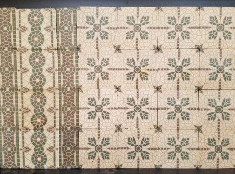 oude mozaiektegels