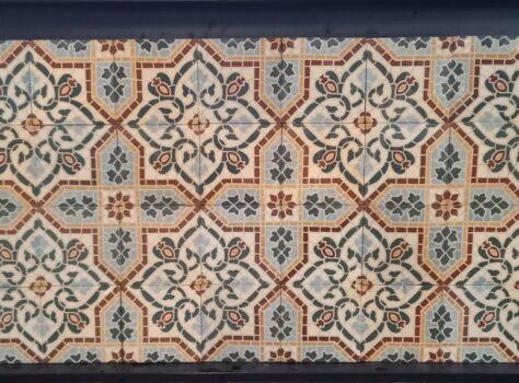oude kloostertegels C102