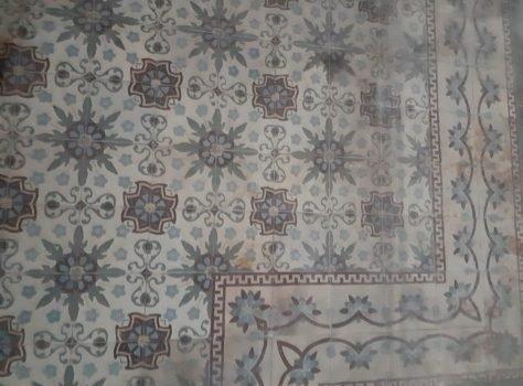 vintage vloertegel