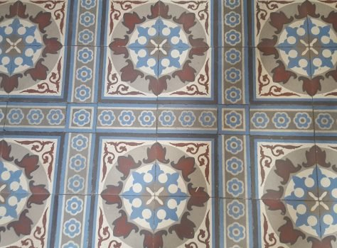 Antieke keramische tegels