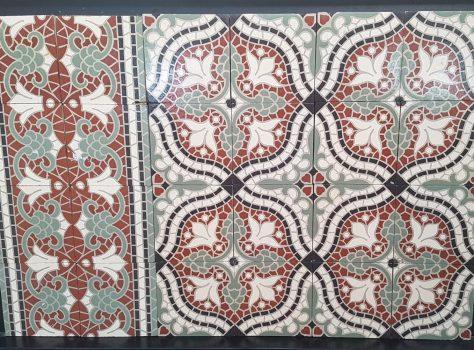Antieke tegels C180
