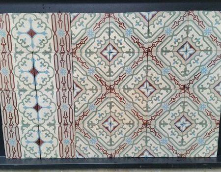 ode,antieke vloertegels