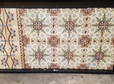 vintage tegels C192