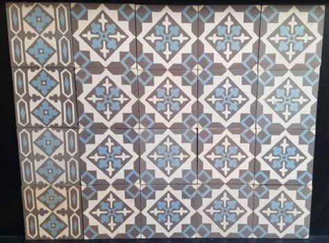oude tegels FR19 antieke vloer