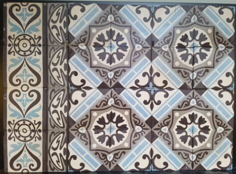 patroontegels antieke versie