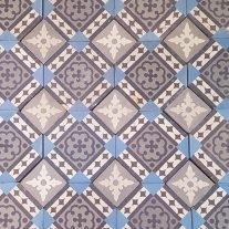 patroon vloertegels R20