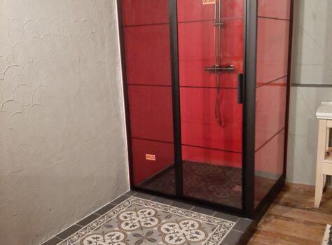 Portugese tegels in de badkamer Florence flower 03 20x20 cm