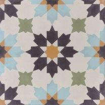 Portugese tegels gekleurd A