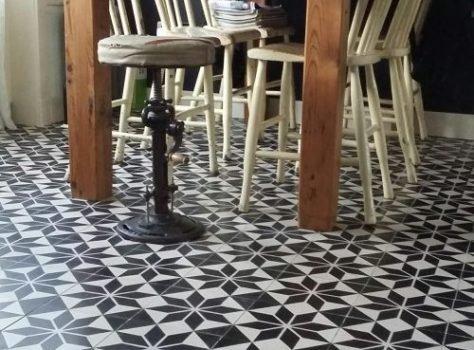 Portugese vloertegels keuken ASTREA