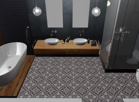 Portugese tegels ARLES 01 badkamer