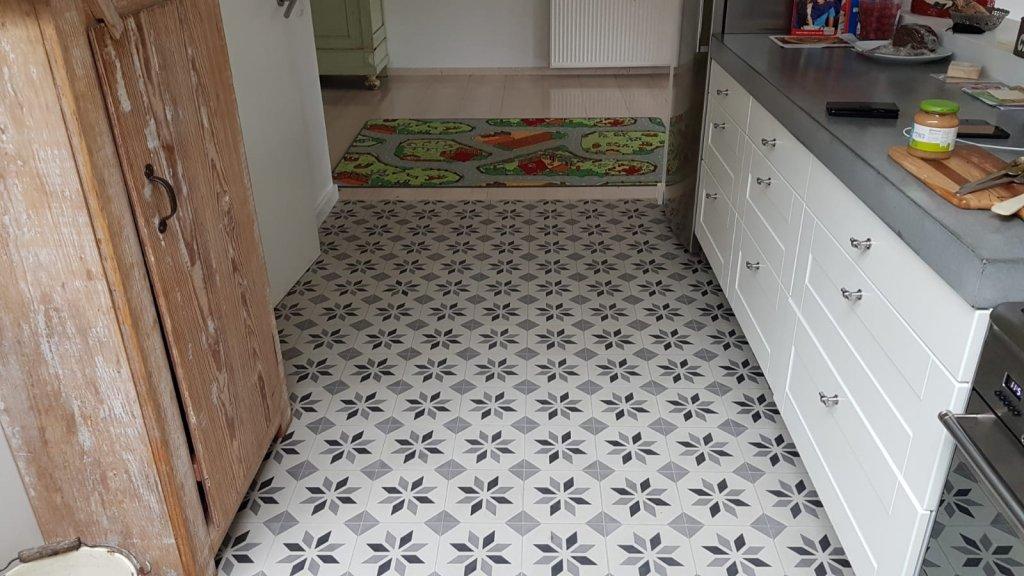 Portugese Vloertegels Keuken : Keuken met portugese tegels serie sirius 01 floorz