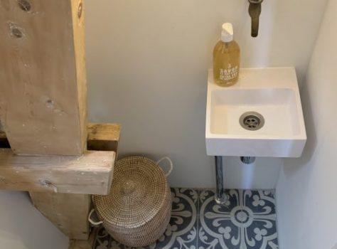 Portugese vloertegels wc