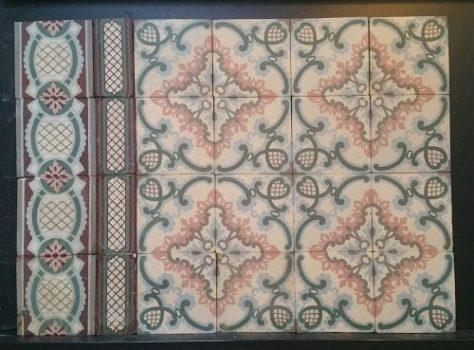 R20 vloertegels met patroon
