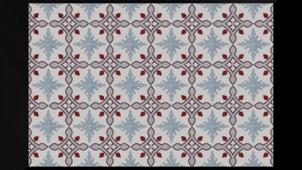 cementtegels vloer serie LYON 02
