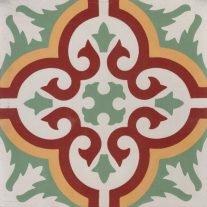 Marokkaanse tegels groen 20x20