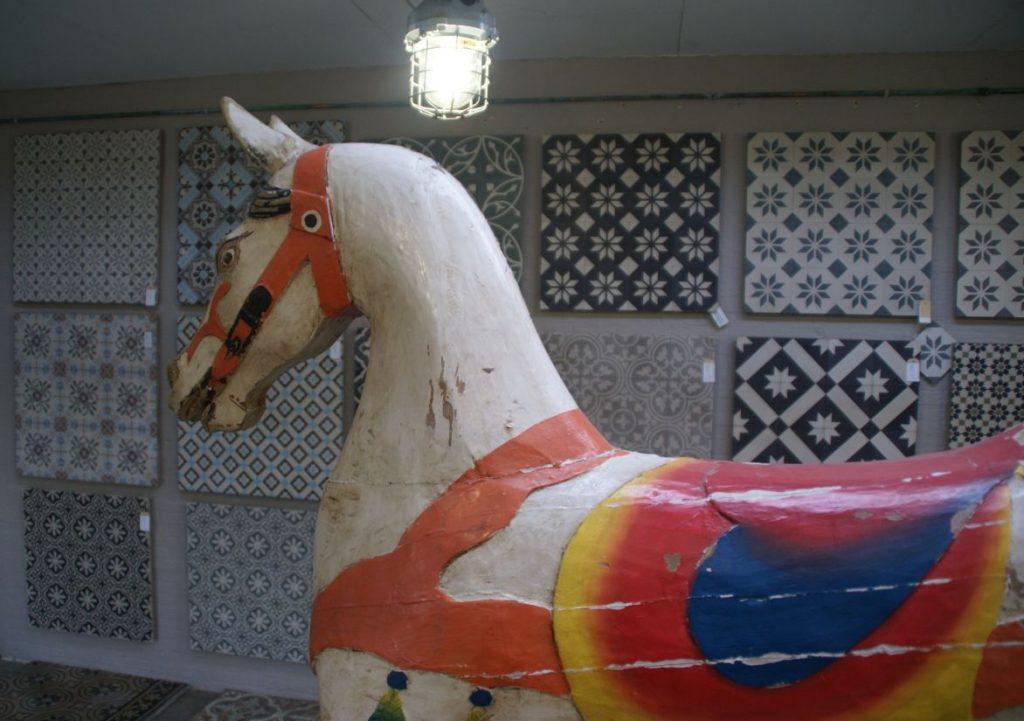 Showroom afdeling Portugese cementtegels