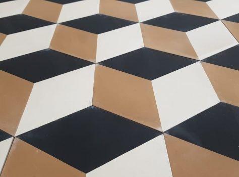 Portugese tegels zeshoekig escher xl