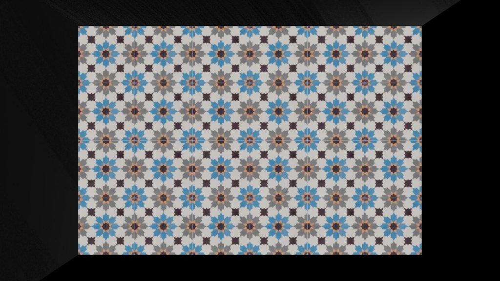 Marokkaanse cementtegels SPZ4