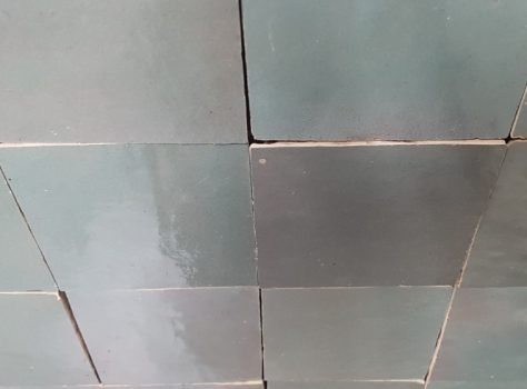 Zelliges Groen Limburg 10x10 cm