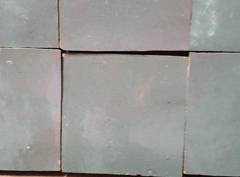 Zelliges Groen Terreau 10x10 cm