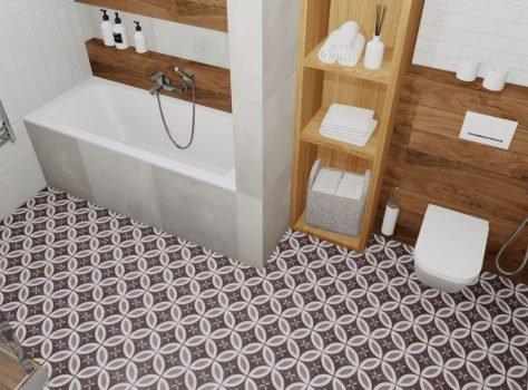 Portugese vloertegels NANTES badkamer