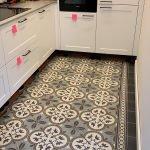 Portugese tegels in je keuken Flowerz zero 03