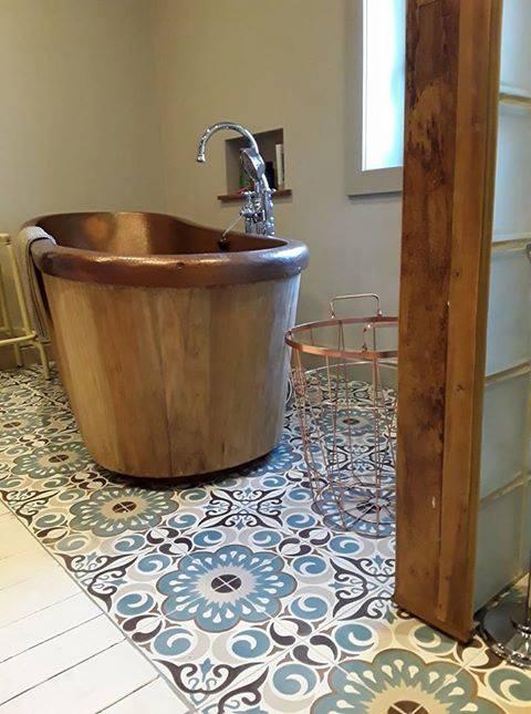 Patroontegels badkamer ANVERS