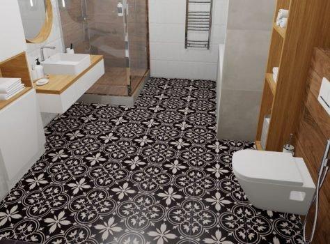 Portugese vloertegels badkamer FFBW