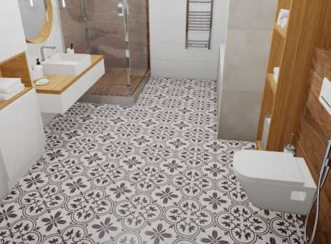 Portugese vloertegels badkamer FFWB