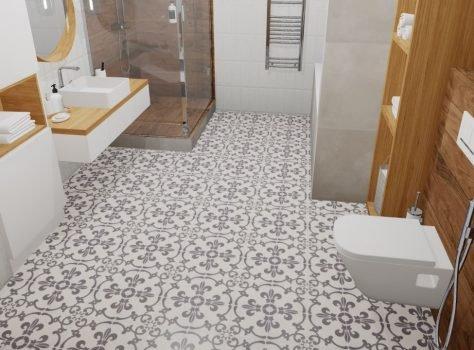 Portugese vloertegels badkamer LEUVEN