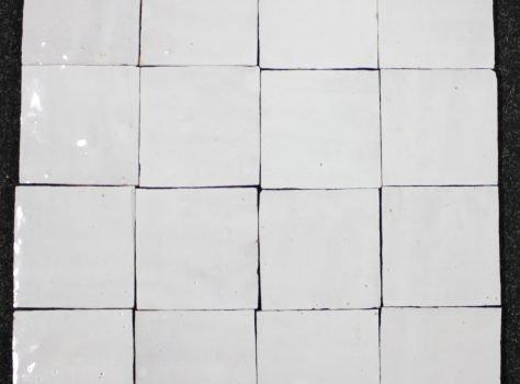 Zelliges blanc 10x10