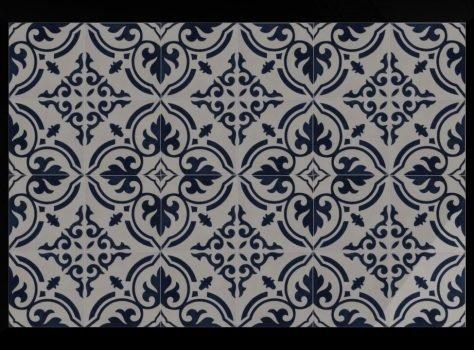 Portugese tegels blauw ARLES 03