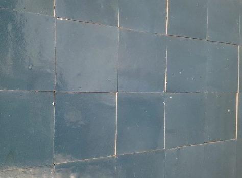 Zellige tegels 10x10 cm Bleu Royal