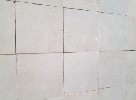Marokkaanse zelliges 10x10 cm kleur ECRU