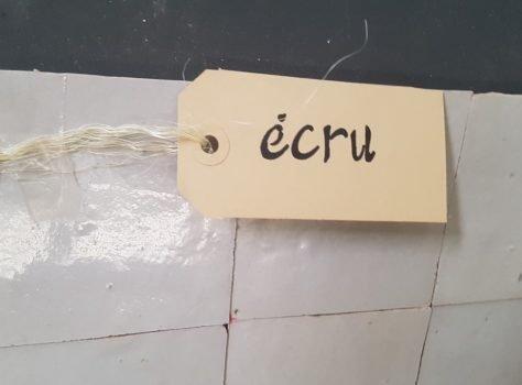 Marokkaanse zellige 10x10 cm ECRU
