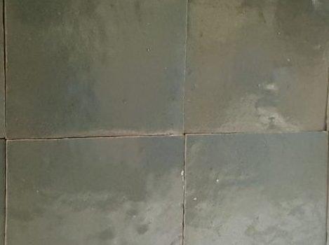 Zelliges tegels groen VERT VIEUX 10x10 cm