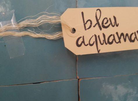 Zelliges tegels blauw aquamarijn 10x10 cm