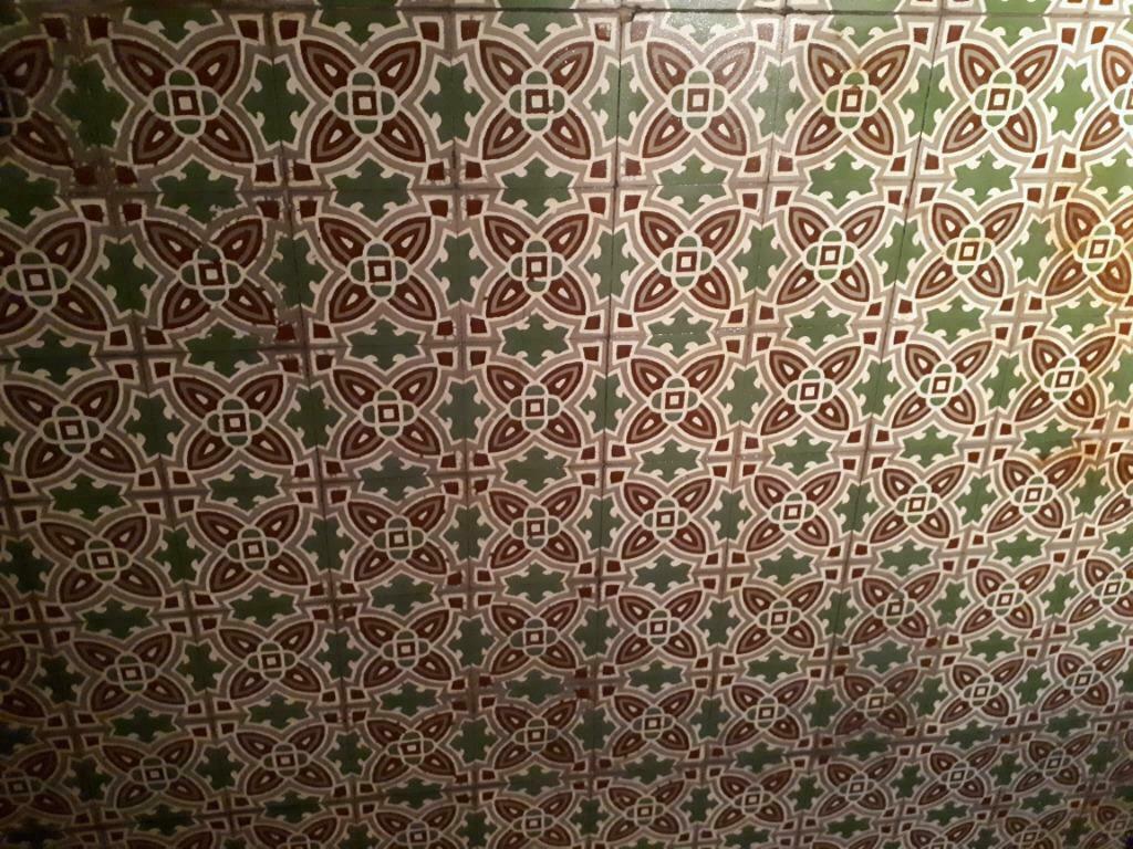 antieke Portugese tegels